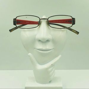 DKNY DY5570 Bronze Oval Glasses Frames
